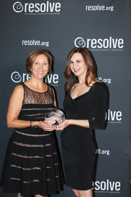Me with Barbara Collura, President/CEO of RESOLVE